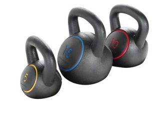 Golds Gym, kettlebell kit