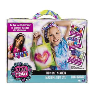 Cool Maker - Tidy Dye Station, Fashion Activity Kit