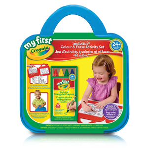 Crayola My First Washable Colour & Erase Activity Set