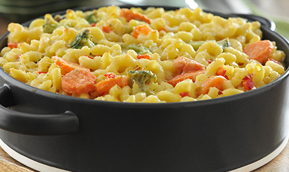 3-Cheese Veggie Mac & Cheese