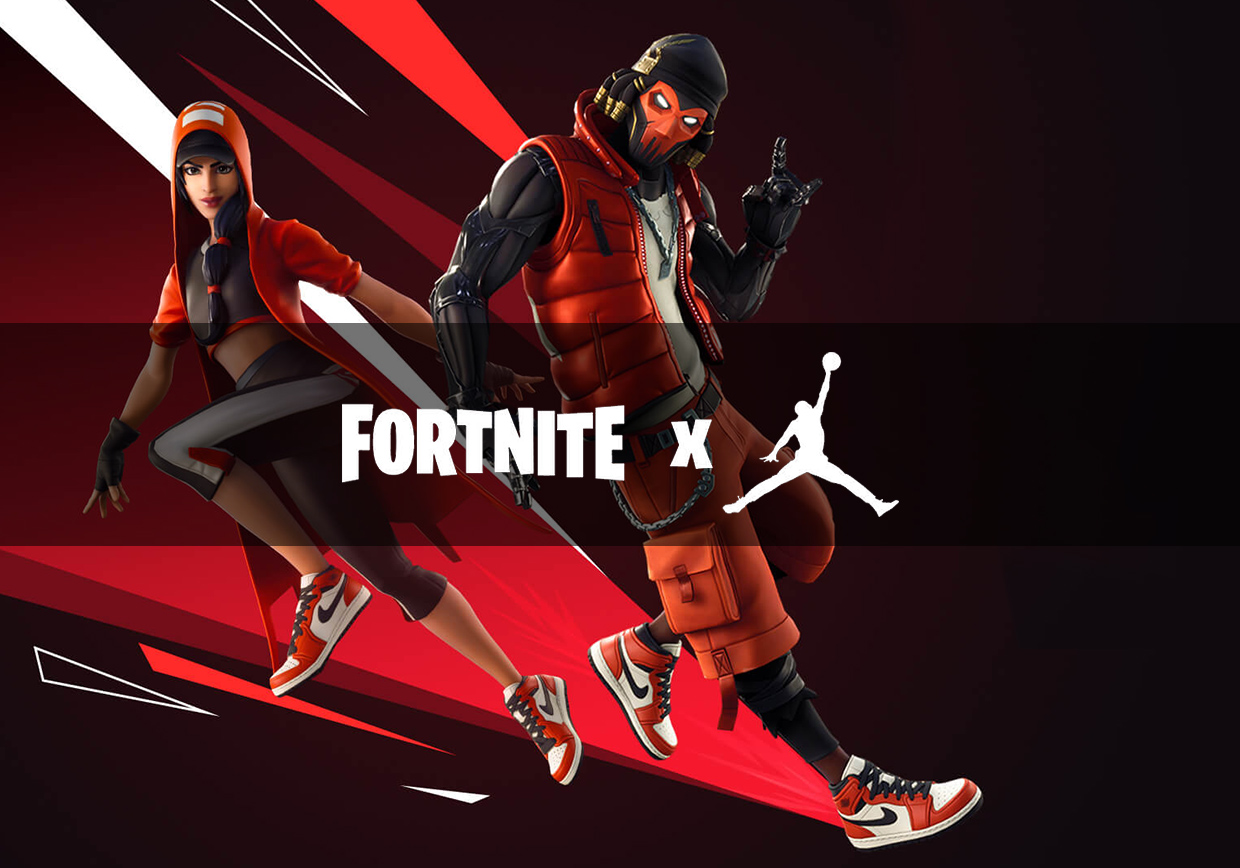Fornite video game banner image