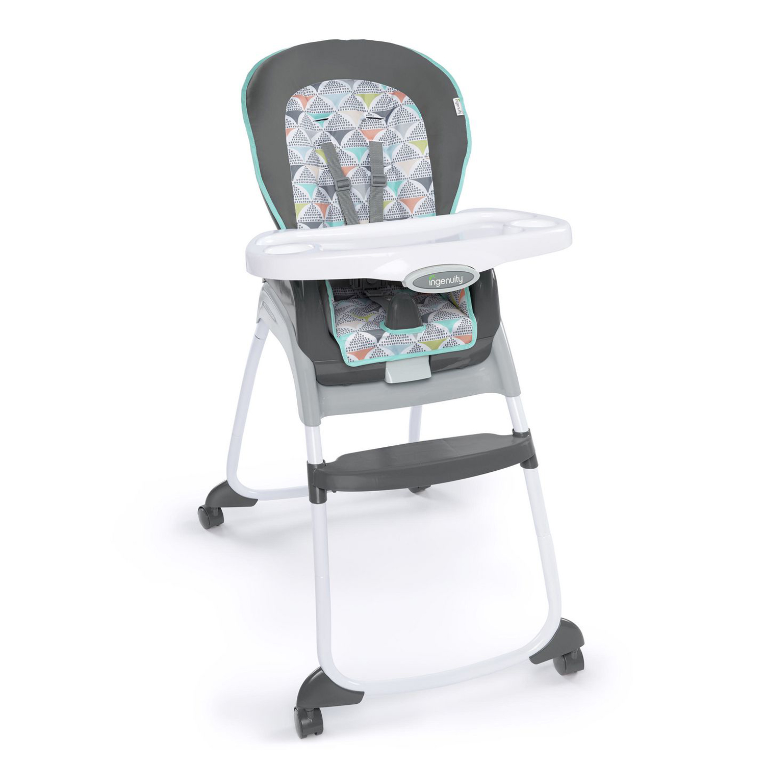 Best high chair overall – Ingenuity Trio 3-in-1 High Chair with wheels