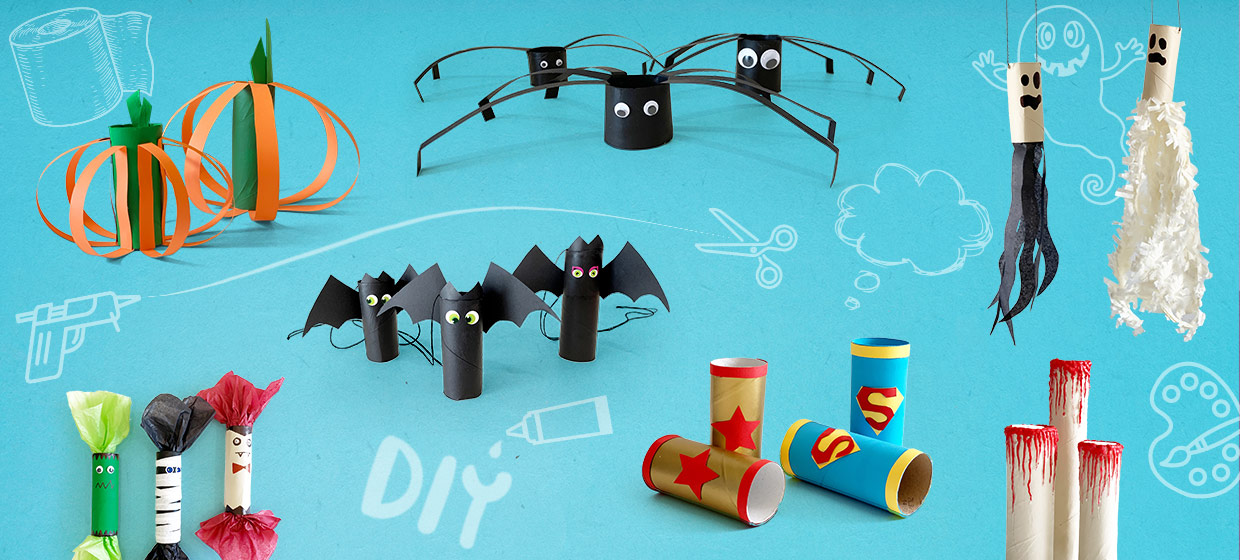 7 Easy Halloween Toilet Paper Roll Crafts You Can Make with Your Kids
