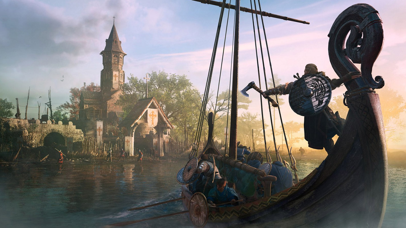 Scene from Assassin's Creed Valhalla PS5