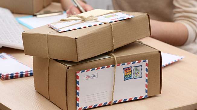 Shipping gifts