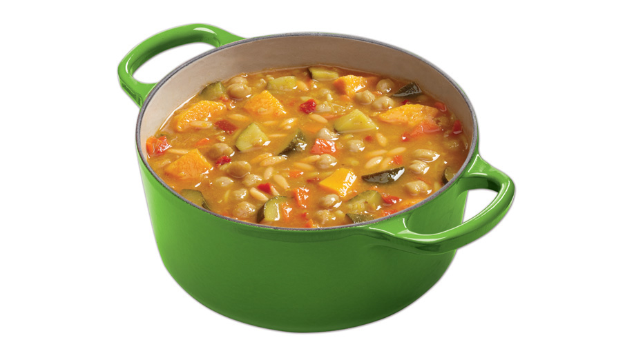 Campbell's® Spiced Vegetable Medley and Orzo Soup