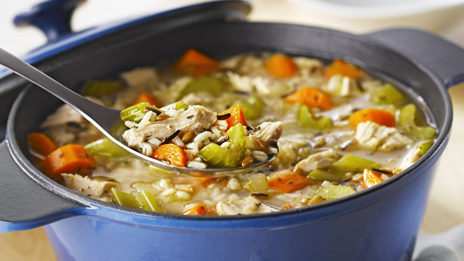 Turkey and 7 Grain Soup