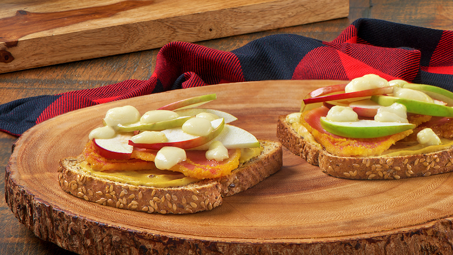 Canadian Double Flax Sandwich recipe