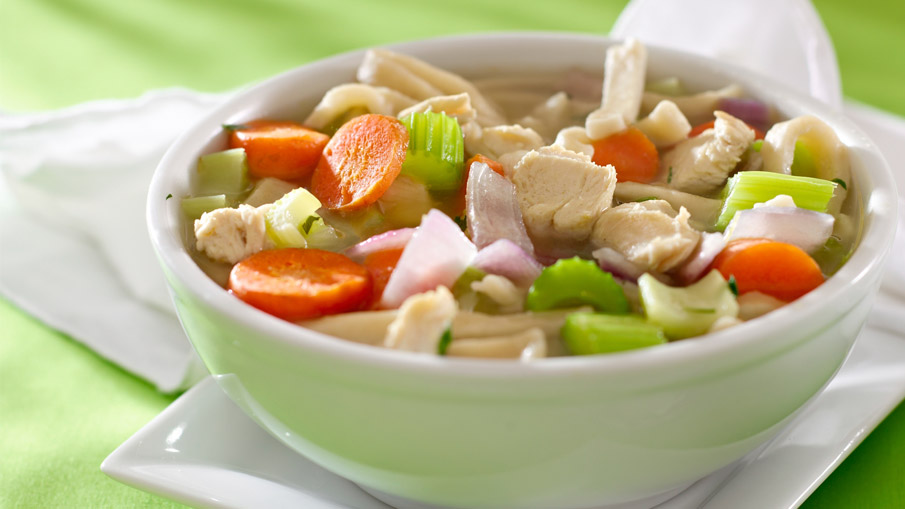 Easy, Old-Fashioned Chicken Rice Soup