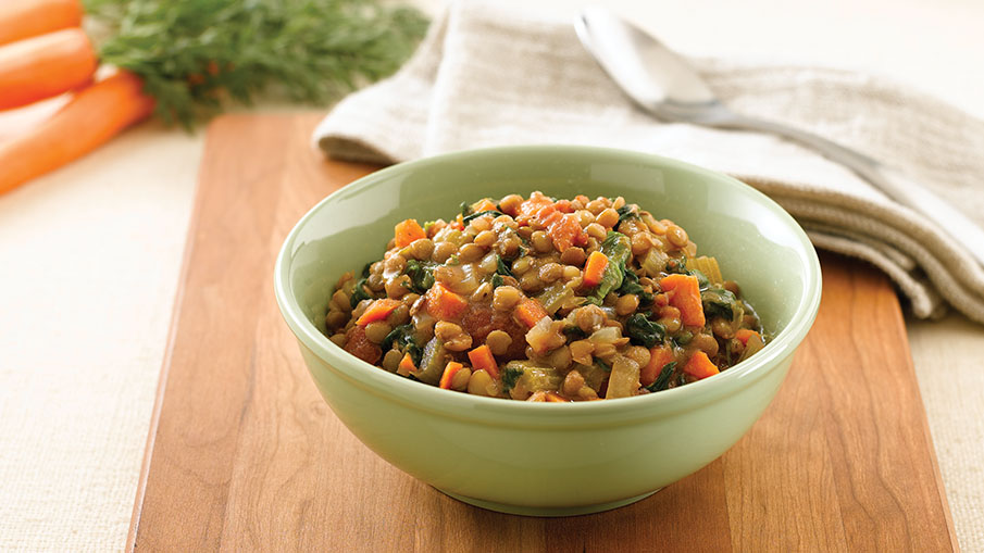 Slow Cooker Lentil Stew Recipe