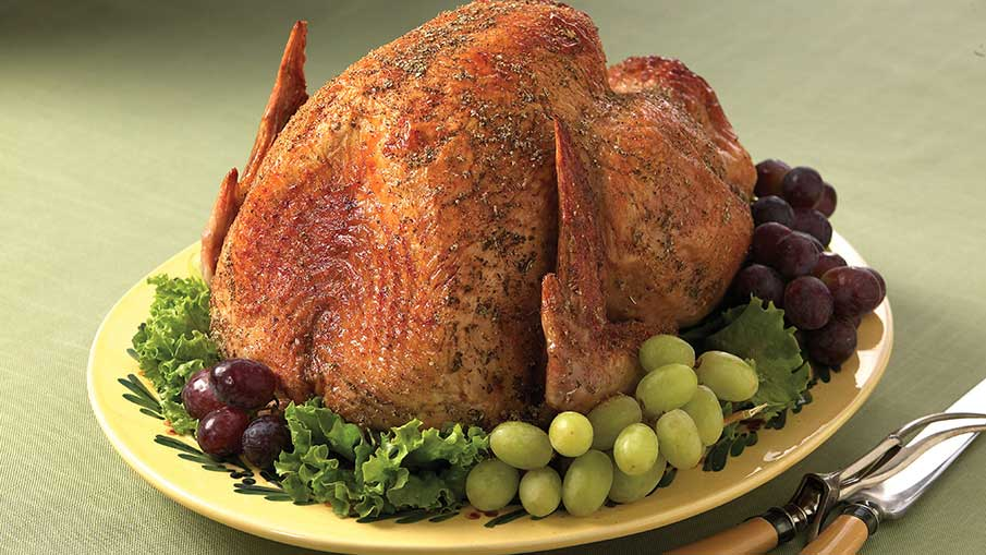 Sage-Rubbed Roasted Turkey