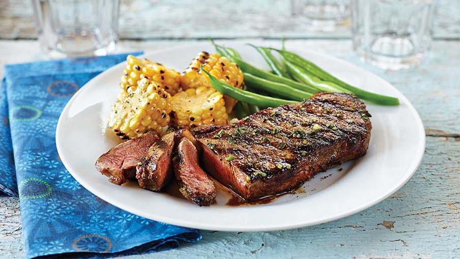 Balsamic-Soy Angus Steak Recipe