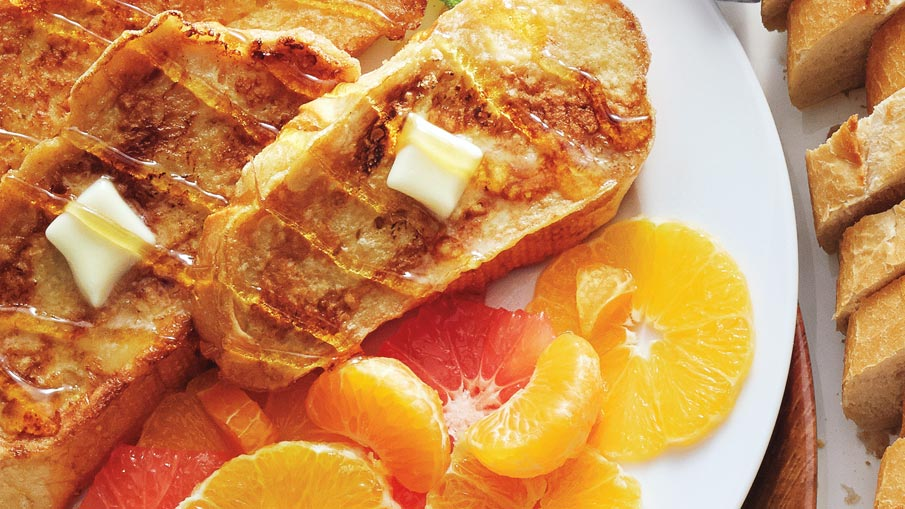 Grapefruit & Orange French Toast